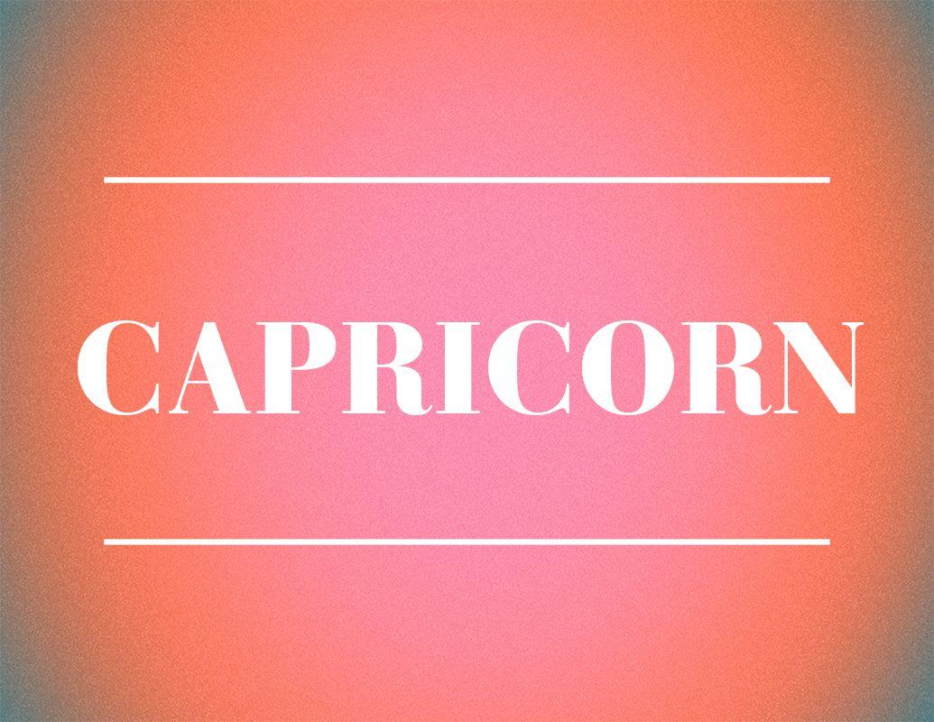 capricorn zodiac sign design