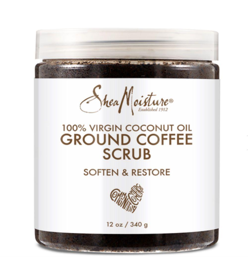 sheamoisture coconut oil coffee scrub