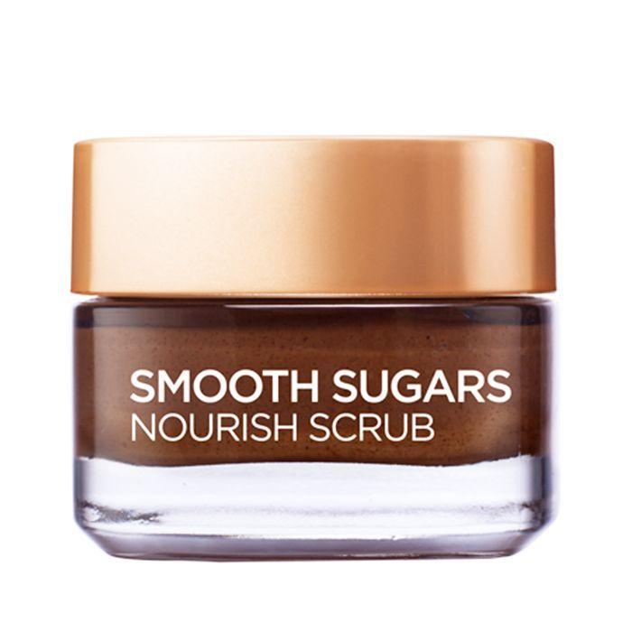 best face scrub: L'Oréal Paris Smooth Sugars Nourish Scrub