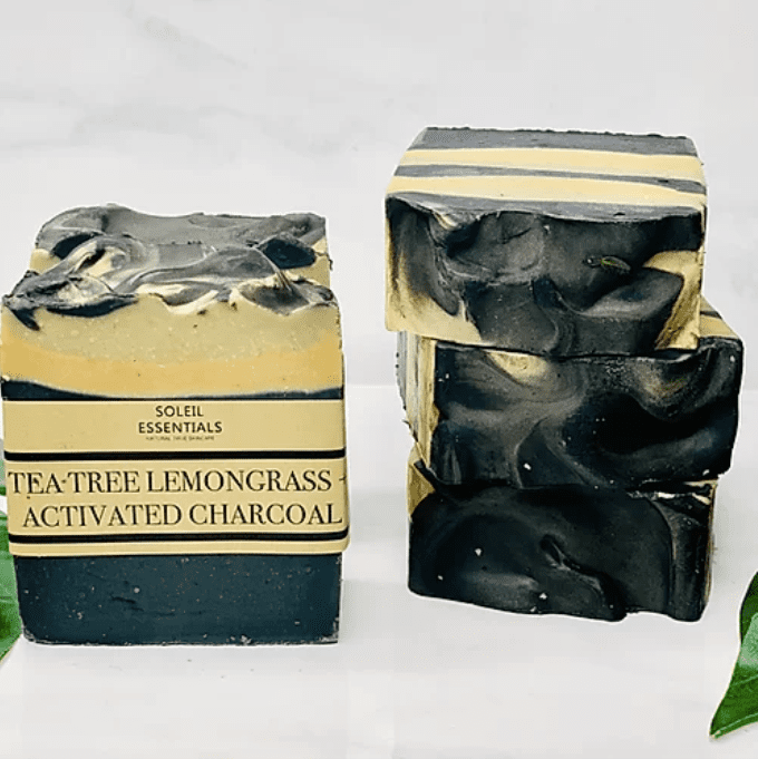 Soleil Essentials Tea Tree, Lemongrass + Activated Charcoal