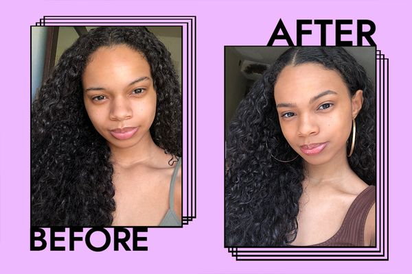 Olivia Hancock before and after
