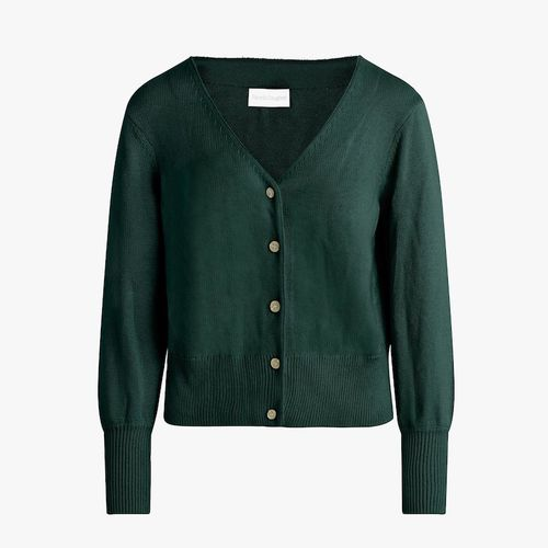 Favorite Daughter Cashmere & Cotton Cardigan Sweater