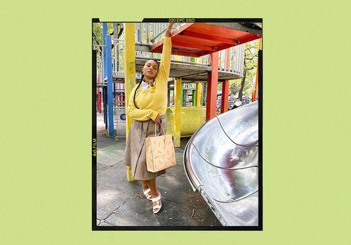 Pencil Skirt Style Inspiration on Paloma Elsesser