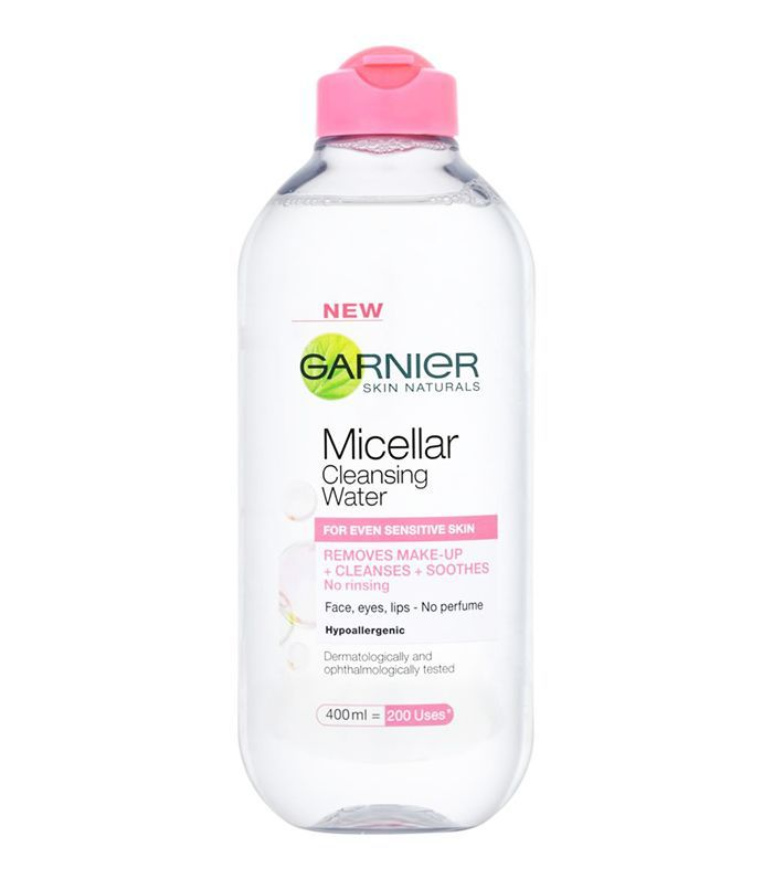 How to get rid of dry skin: Garnier Micellar Cleansing Water