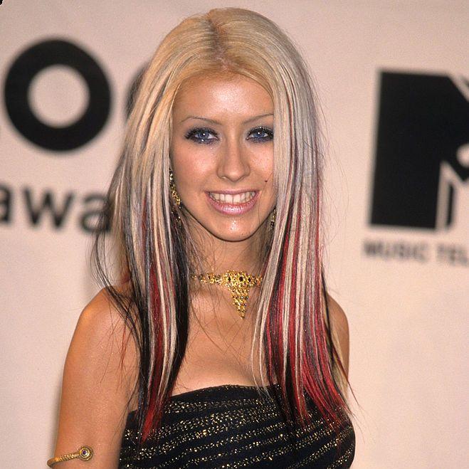 Christina Aguilera Bold Streaks