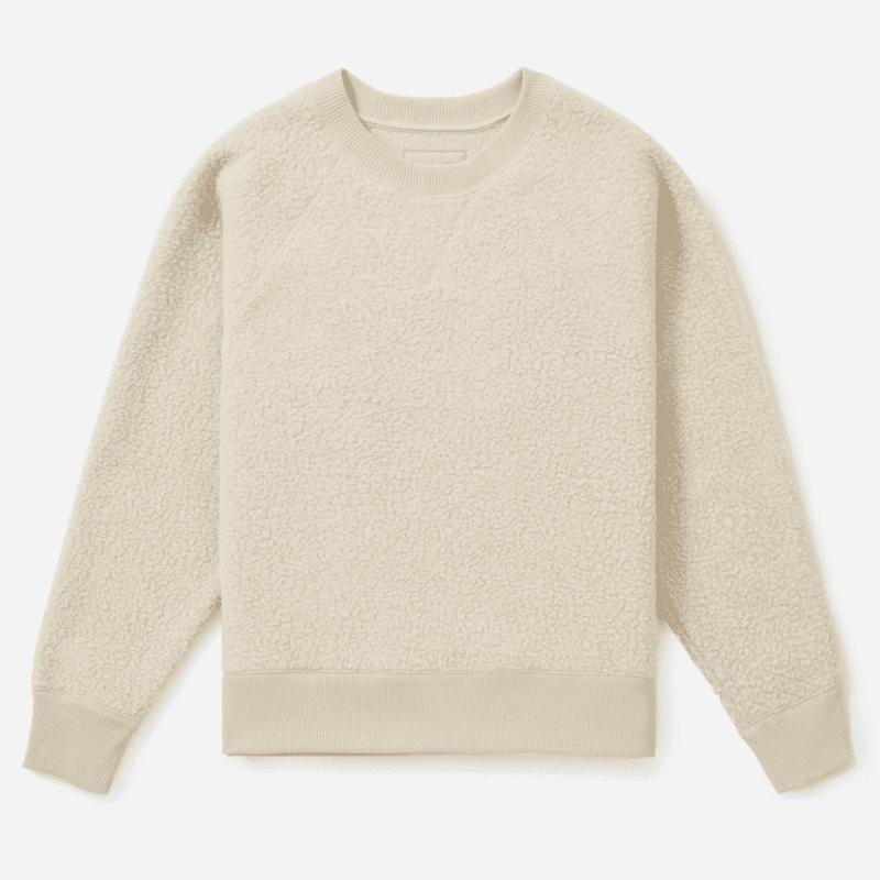 Everlane ReNew Fleece Raglan Sweatshirt