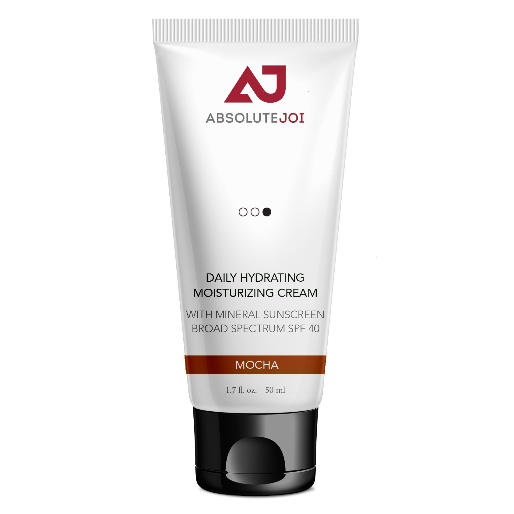 AbsoluteJOI Daily Hydrating Moisturizing Cream with Mineral Sunscreen Broad Spectrum SPF 40