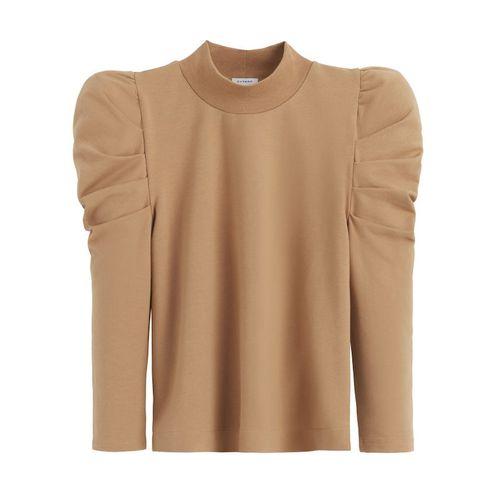 Cuyana French Terry Puff Sleeve Sweatshirt