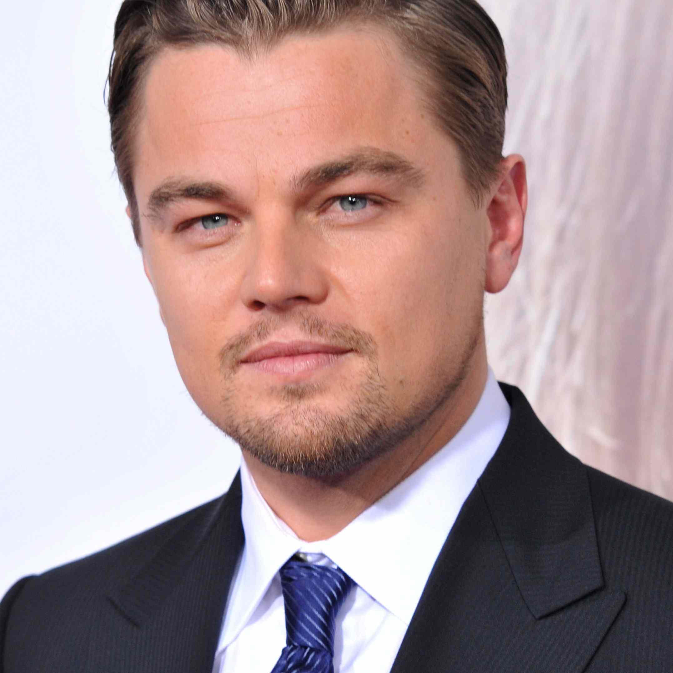 Leonardo DiCaprio Hair 2008
