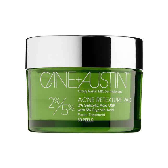 Acne Retexture Pad 2% Salicylic Acid USP with 5% Glycolic Acid 60 Peels