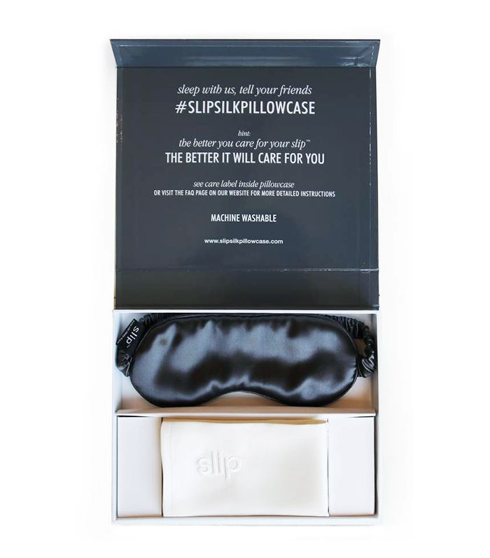 Slip for Beauty Sleep White & Charcoal Collection
