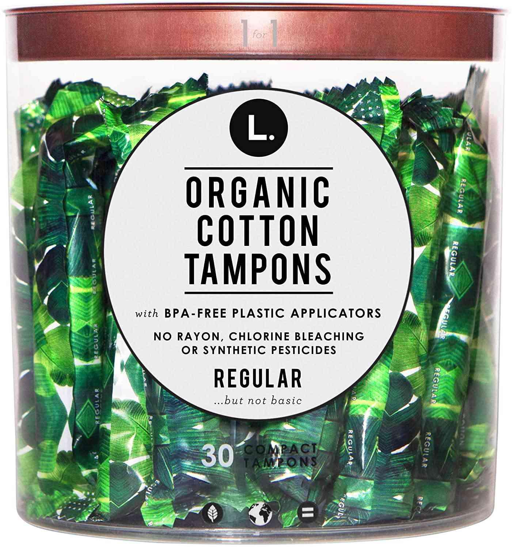 L.Organic Tampons