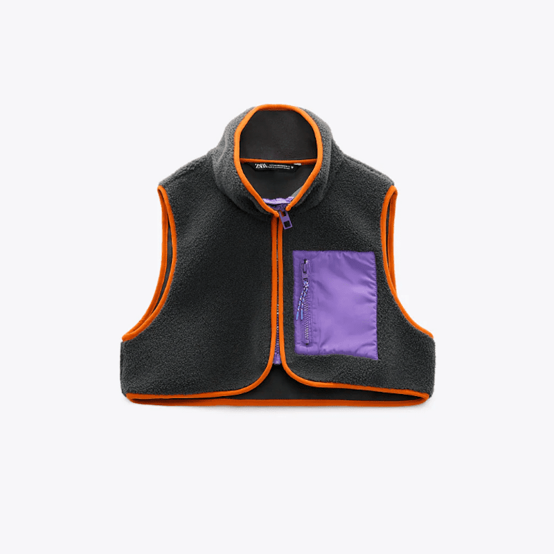 Zara Fleece Vest
