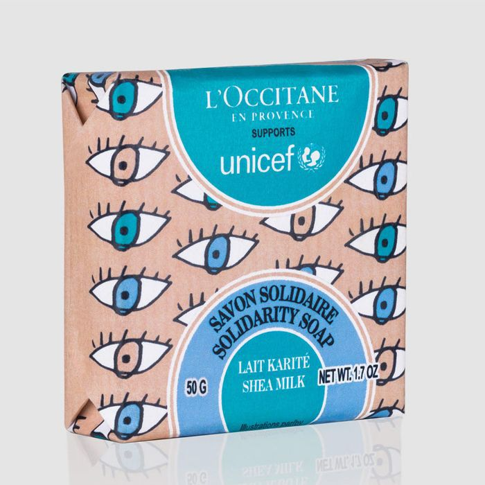 L'Occitane Milk Shea Butter Solidarity Soap