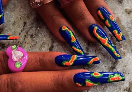 Megan The Stallion's Thermal Nails