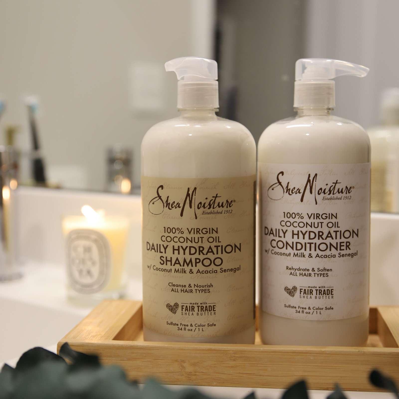 Shea Moisture 100% Virgin Coconut Oil Hydration Shampoo & Conditioner