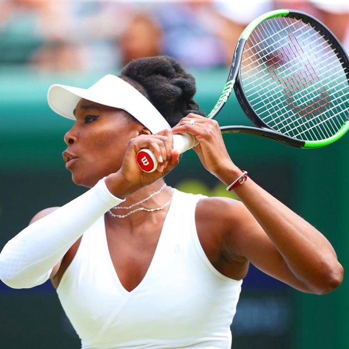 Venus Williams's Eyeliner