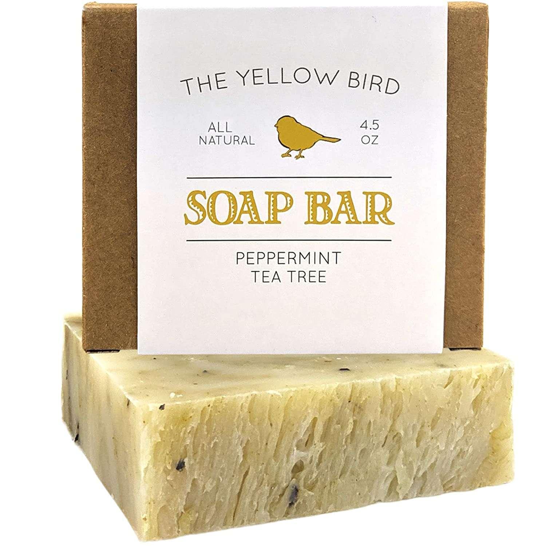The Yellow Bird Peppermint & Tea Tree Soap Bar
