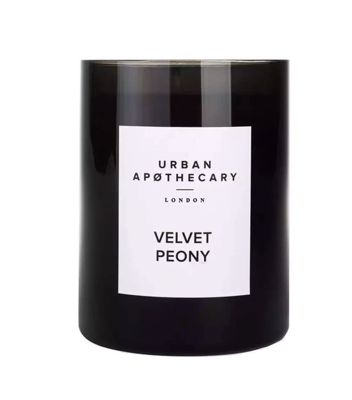 Urban Apothecary London Velvet Peony Luxury Mini Candle