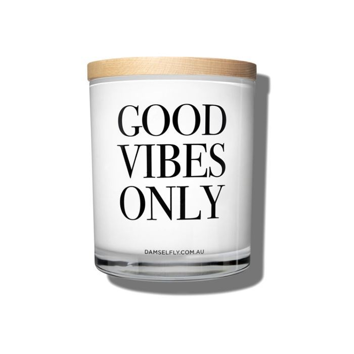 Breathwork: Damselfly Good Vibes Only Candle