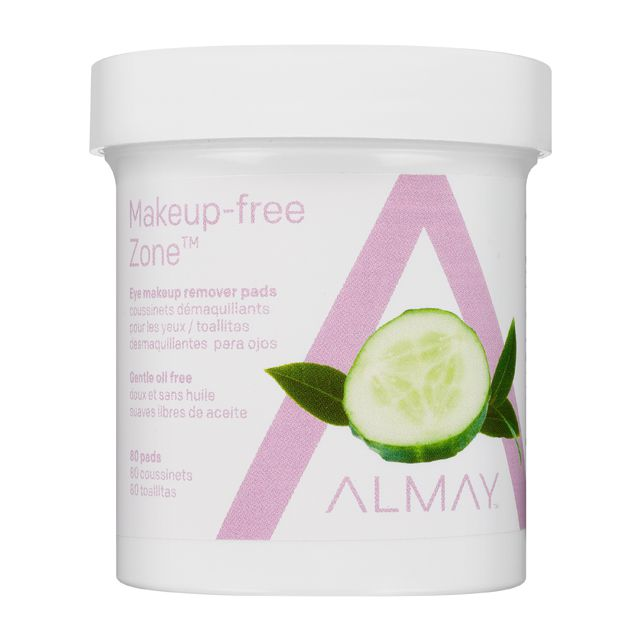 Almay Makeup-free Zone remover pads