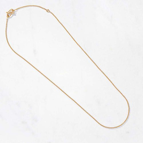 Cable Link Necklace ($550)