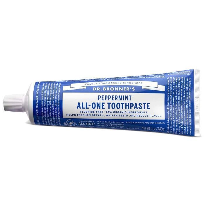 Dr. Bronner's Peppermint All-One Toothpaste