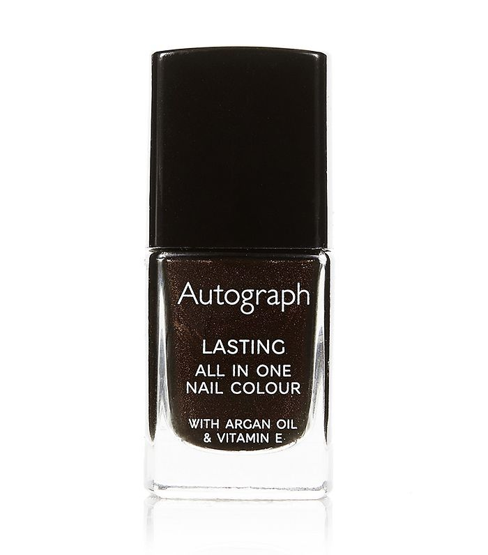 Best nail polish: Autograph All in One Nail Colour in Cappuccino