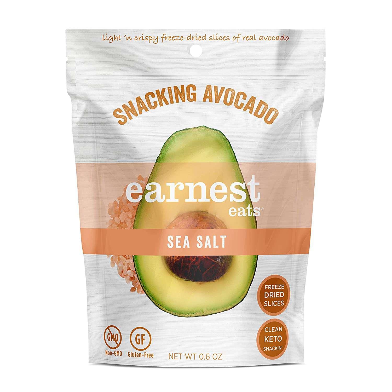 snacking avocado