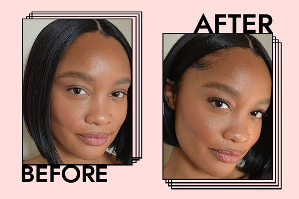 ILIA limitless lashes mascara before and after