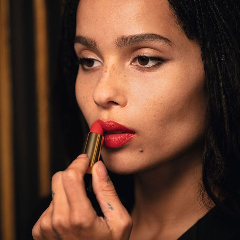 """Zoe Kravitz Discusses Lipstick, Finding Balance, and Her Modern Take on """"Having it All"""""""