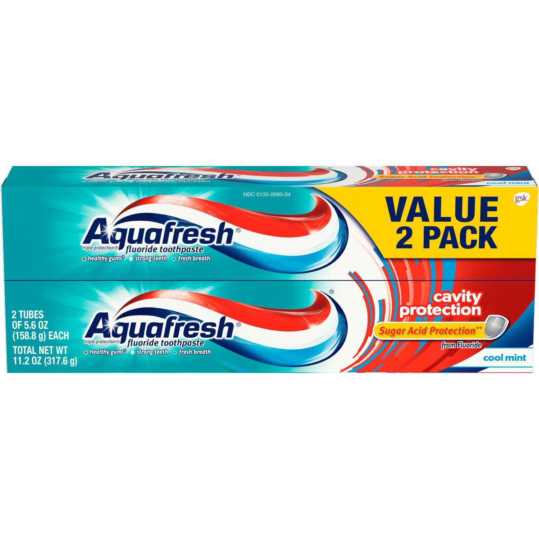 Aquafresh Cavity Protection Fluoride Toothpaste