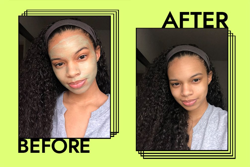 Mara Masque Before + After