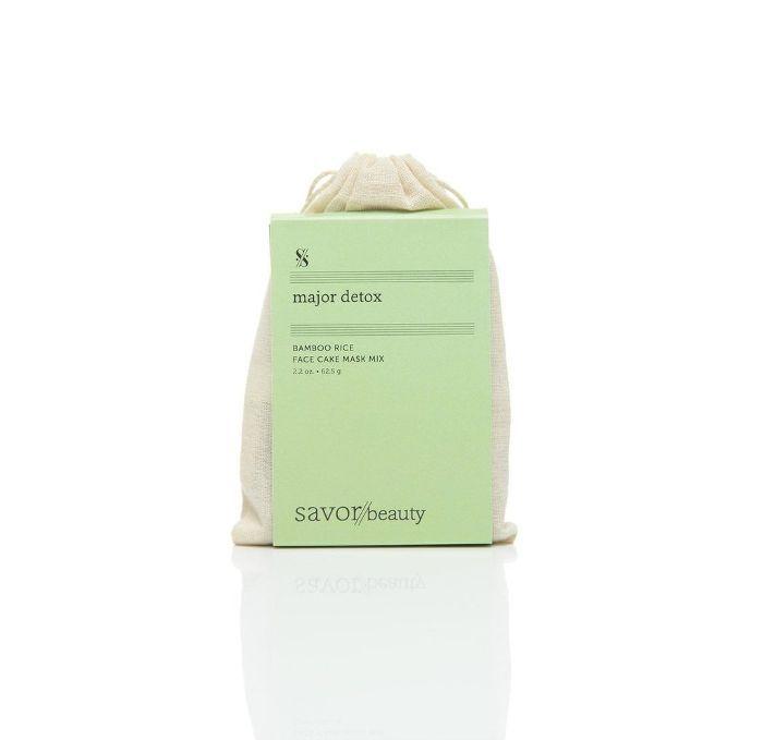 Savor Beauty Bamboo Rice Face Cake Mask Mix