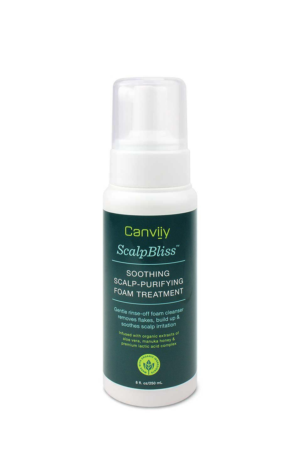 Canviiy ScalpBliss Soothing Scalp-Purifying Foam Treatment