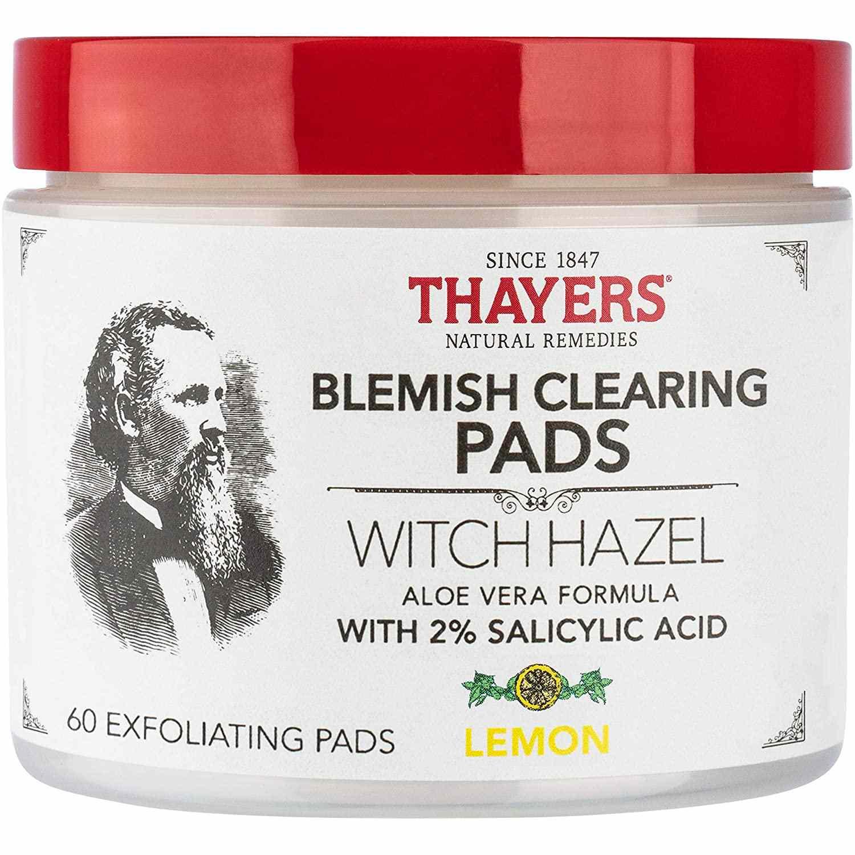 Thayer's Witch Hazel Blemish Pads with Lemon