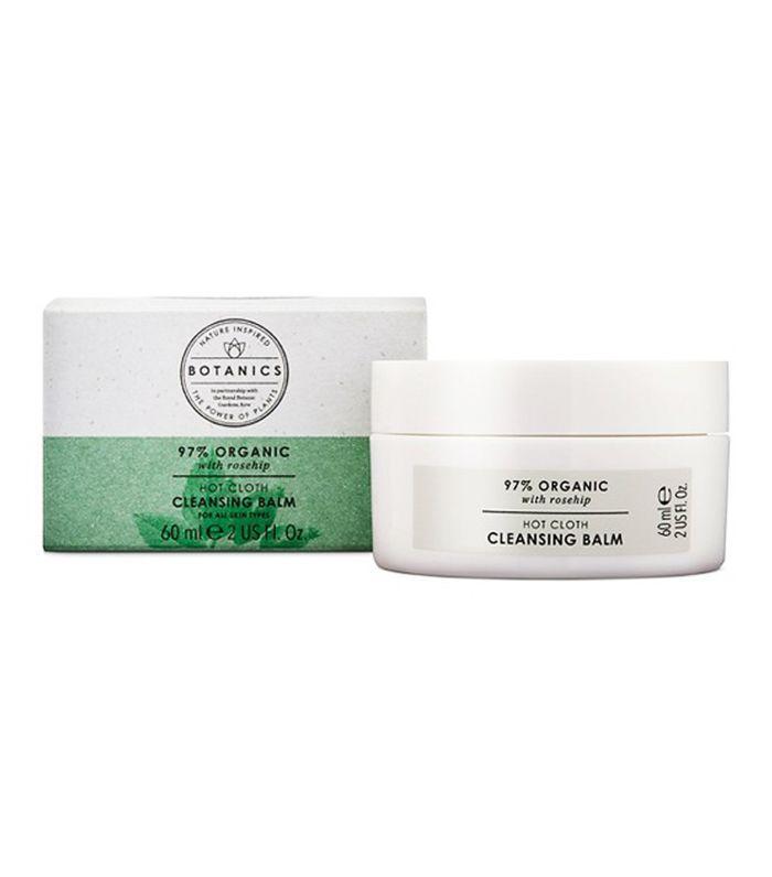 Best drugstore cleanser: Botanics Hot Cloth Cleansing Balm