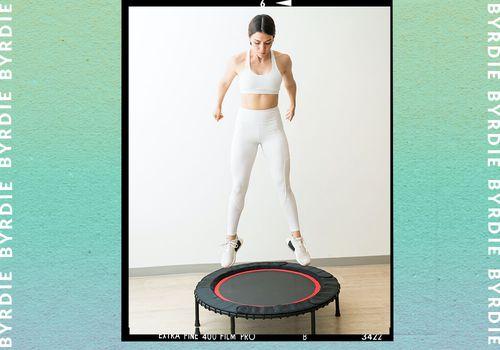 mini trampoline exercises