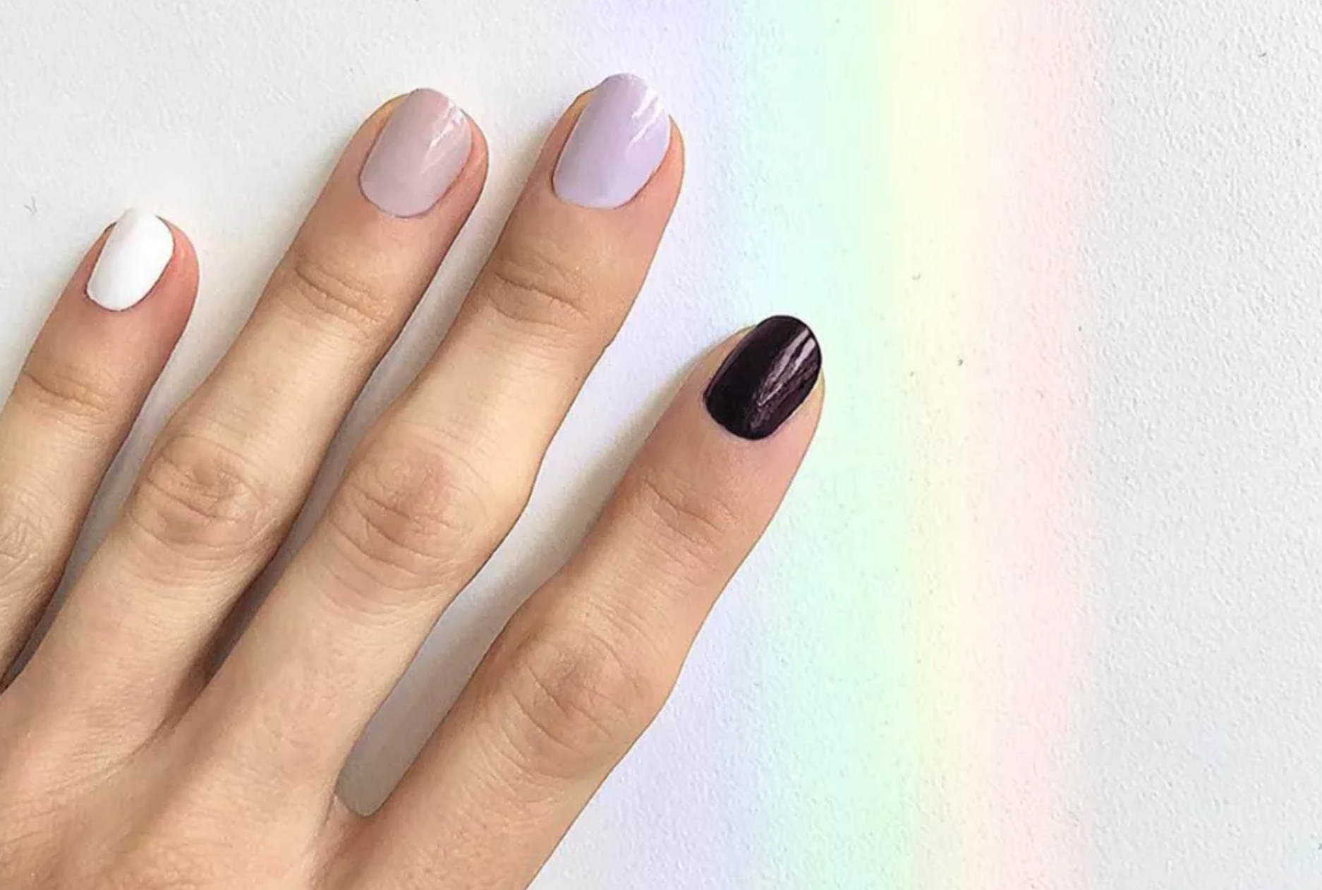 Instagram's Favorite Spring Nail Trend Isn't Going Away Anytime Soon