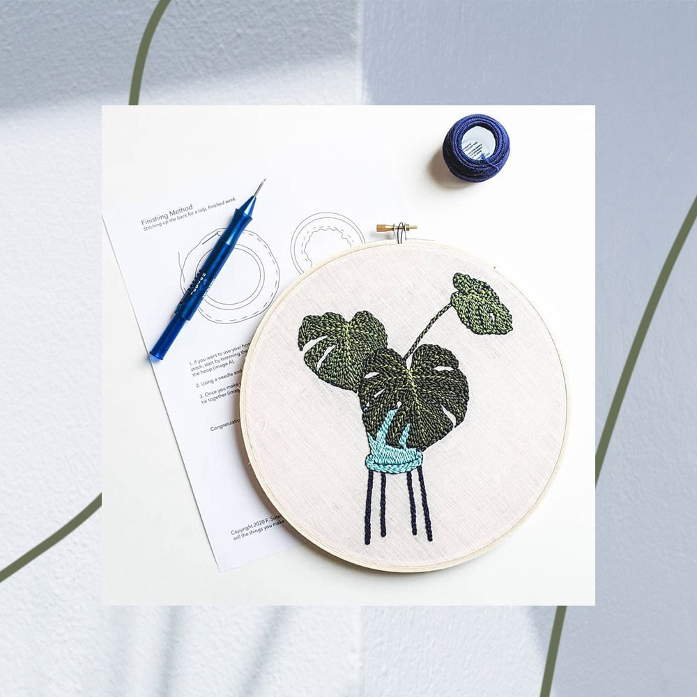 machine embroidery - cover
