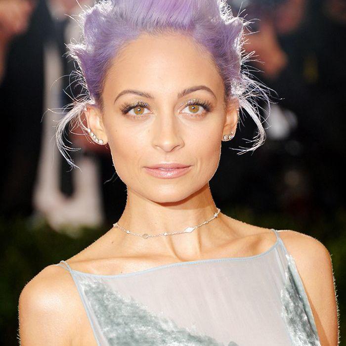 Purple hair: Nicole Richie purple hair