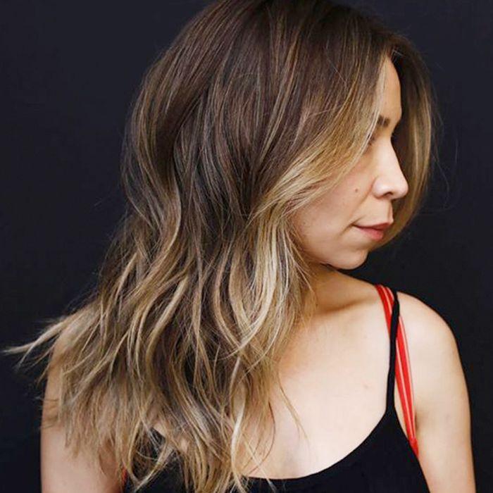 lowlights for brown hair: chestnut hair