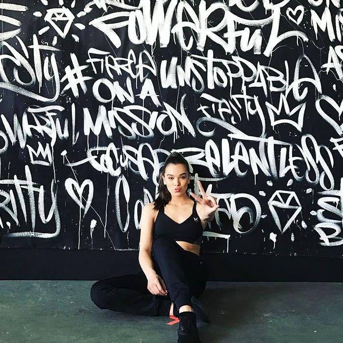 Hailee Steinfeld - Fitness Tips
