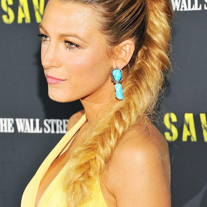Blake Lively Hair: High fishtail