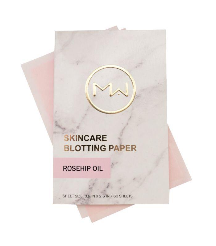New Gen Blotting Paper: Mai Couture Skincare Rosehip Oil Blotting Paper