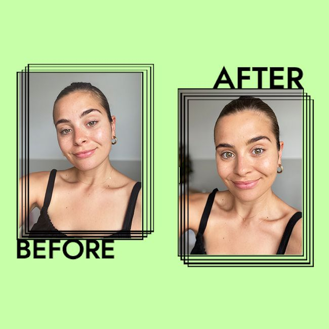 Dior Backstage Face & Body Foundation Results on Emily Algar