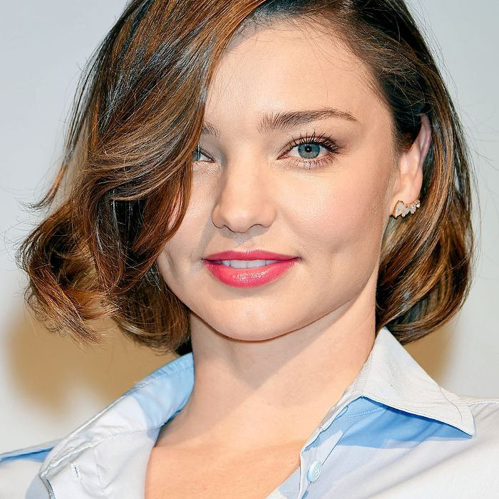 10 Short Haircuts For Round Faces