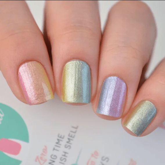 its Personail Paddle Pop Rainbow Nail Polish Wraps