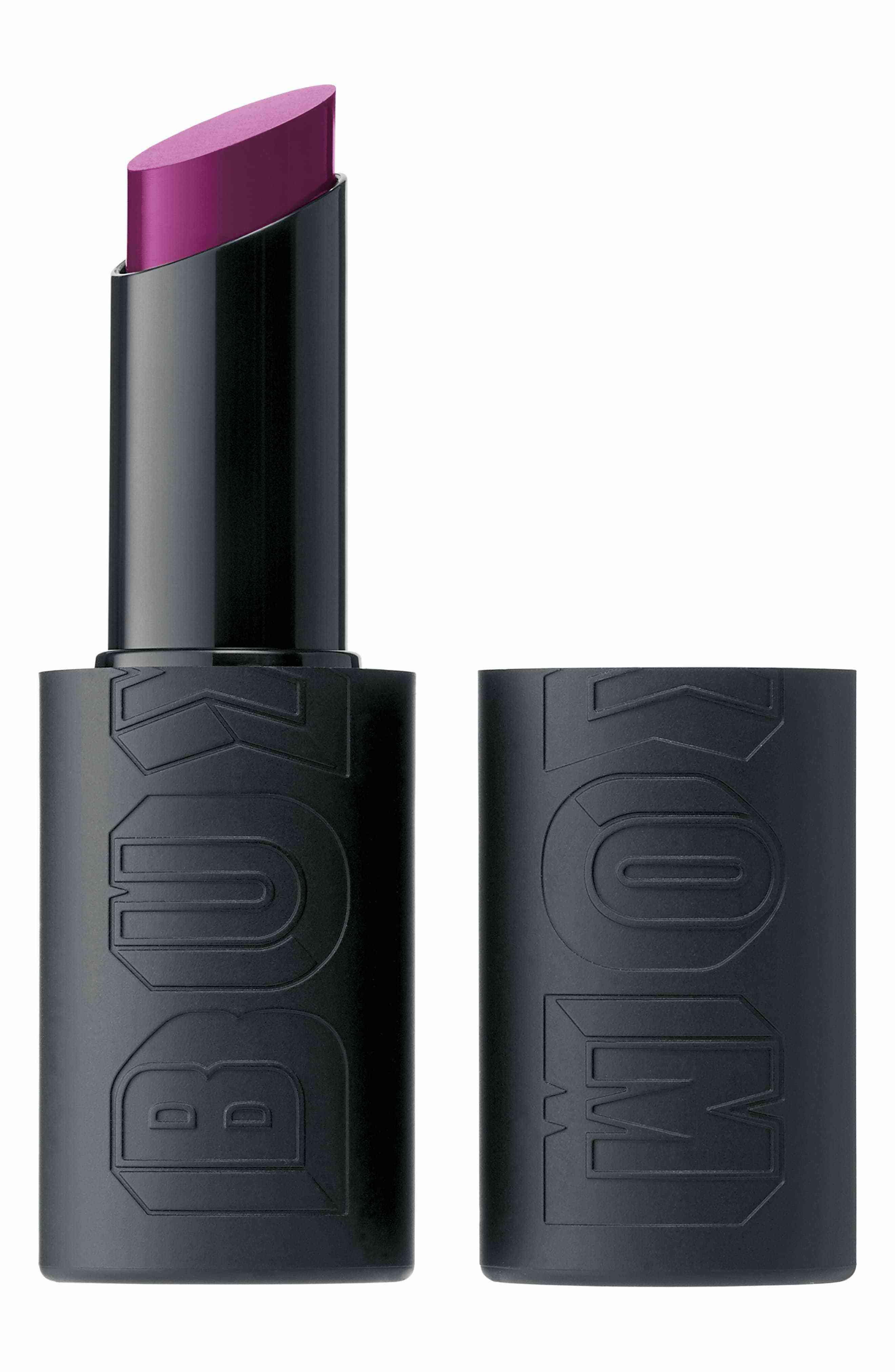 Buxom Satin Big & Sexy Bold Gel Lipstick in Shameless Magenta