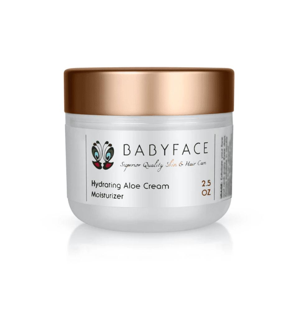 Hydrating Aloe Cream & Coconut Oil Healing Moisturizer